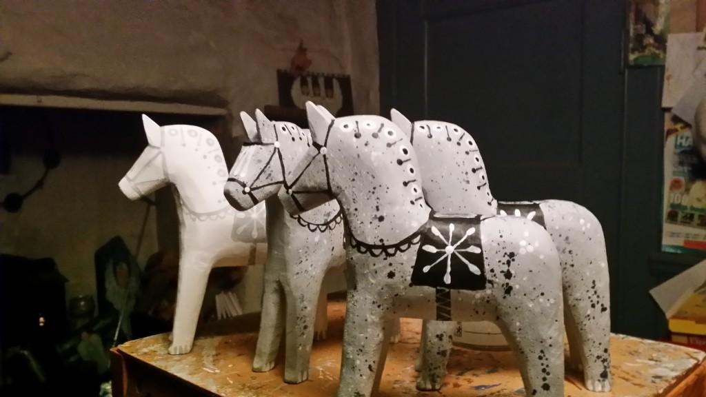 Inför 2017 finns en ny modell av Holmestadshästen.