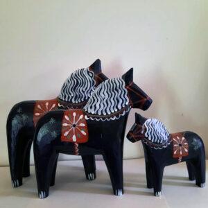 Trähästar